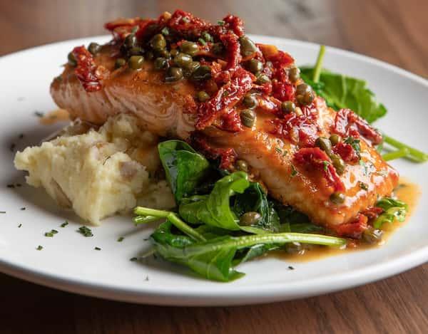 Salmon Piccata*