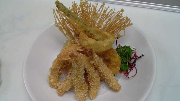 Shrimp and Vegetable Tempura Combo