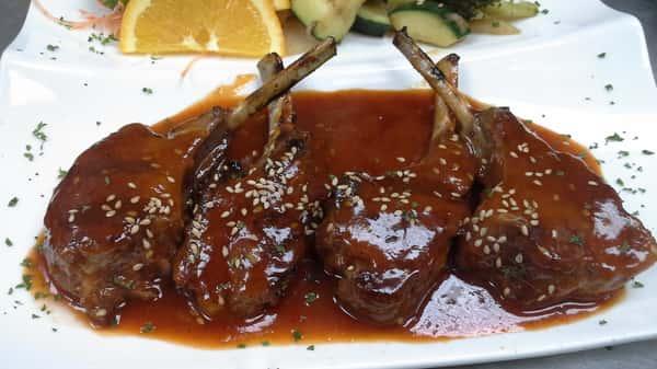 Lamb Marinate in Miso