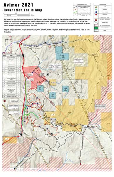 2021 Trail Map