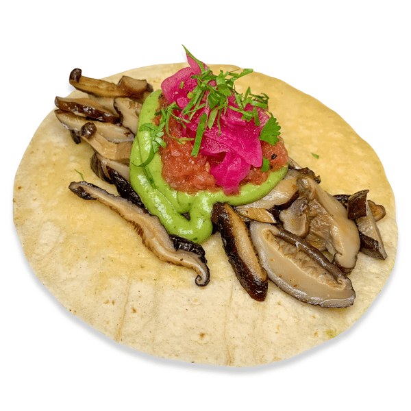 26. Grilled Mushrooms Taco