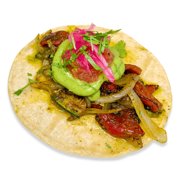 25. Roasted & Grilled Veggies Taco