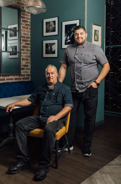 chef and son