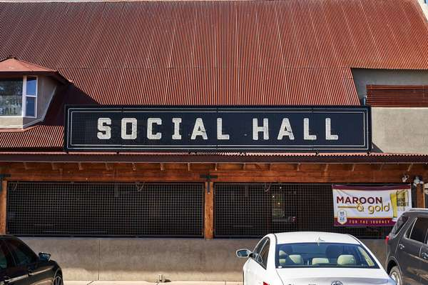 social hall exterior
