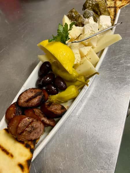 Greek Mezze Plate