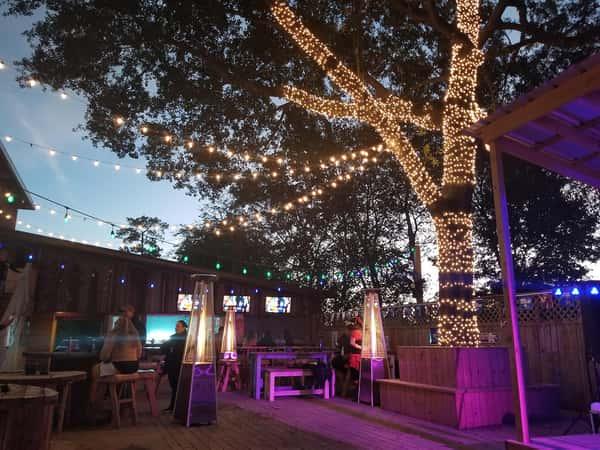 backyard lights