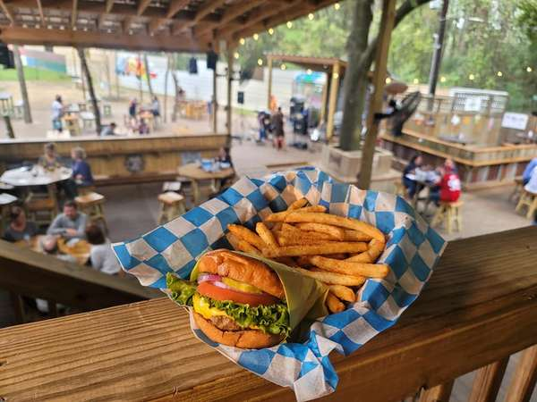 burger fries