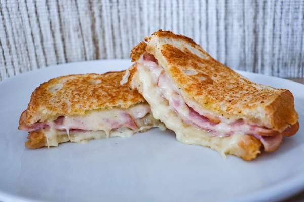 Classic Ham and Swiss Panini