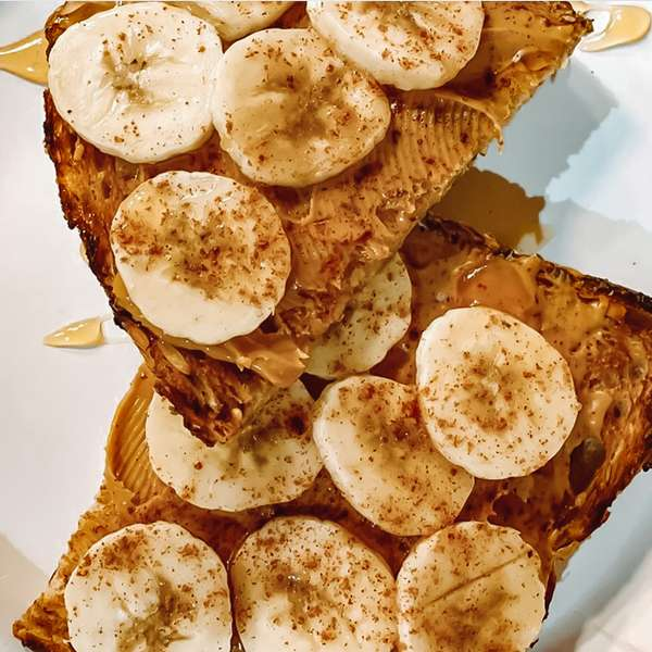 Banana Honey Toast