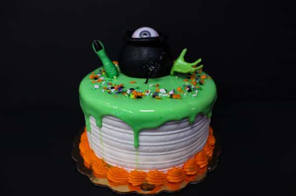 Slime cake