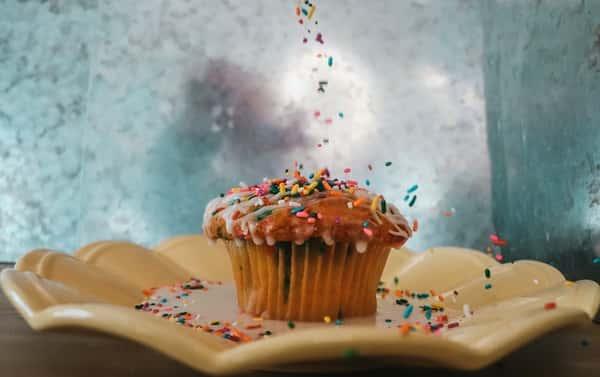 funfetti muffin