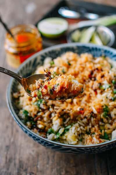 Crab Cake Fried Rice