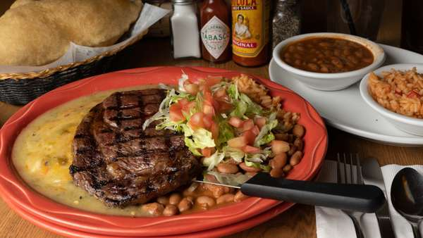 Steak & Enchiladas