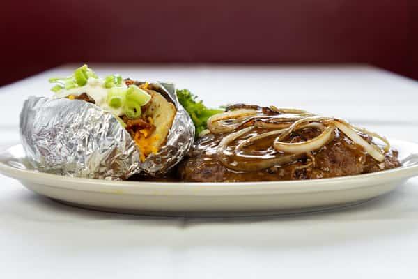 Chuck Wagon Steak Dinner