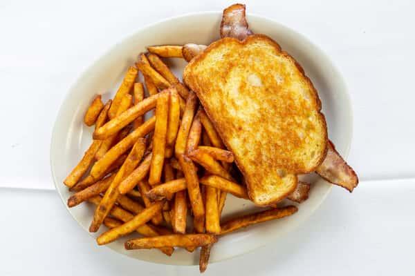 sourdough bacon sandwich