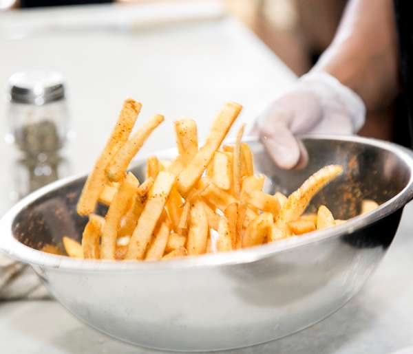 Fries in Action