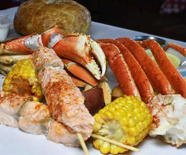 Crab & Salmon