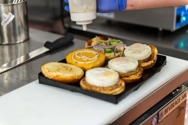 B.Y.O Breakfast Sandwich