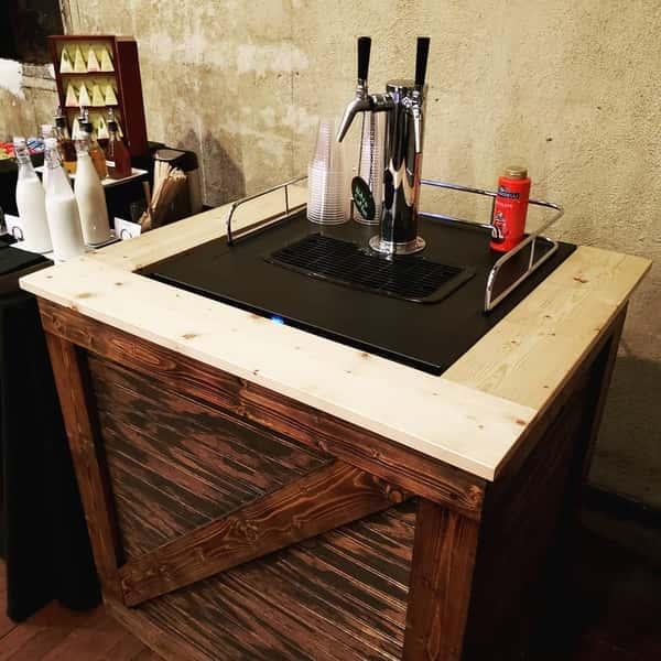 Nitro coffee bar