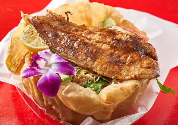 mesquite fish salad