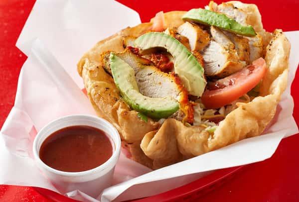 Mesquite Grilled Chicken Fajita Salad