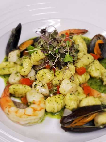 Seafood Pesto