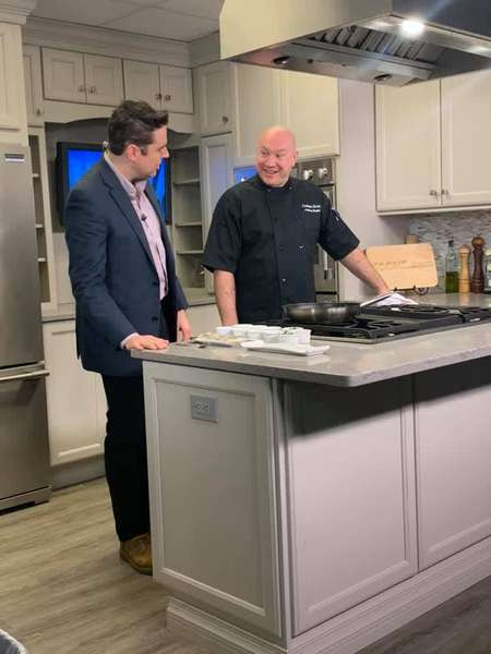 Chef Anthony Rayhall on The Rhode Show