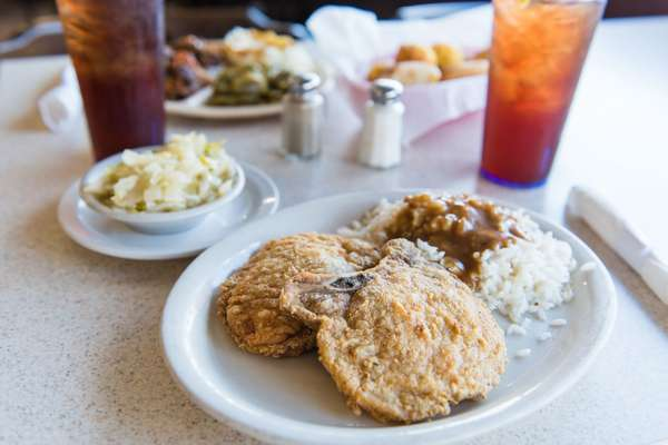 Chicken (Baked or Fried) or Pork Chop (Tue.)