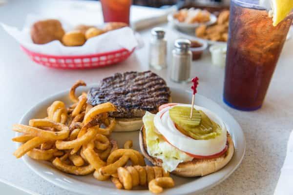 Hamburger* and Fries