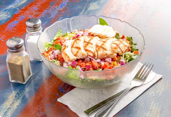 Steamboat Chicken Salad (grilled or breaded)