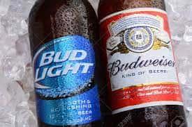 Budweiser and Bud Light