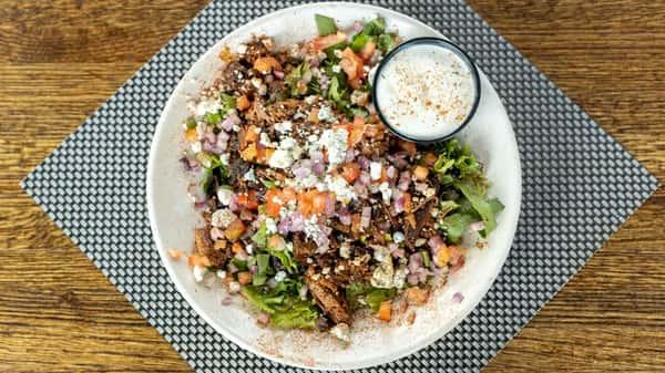 Blue Cheese Brisket Salad