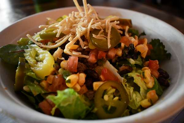 Impossible Taco Salad