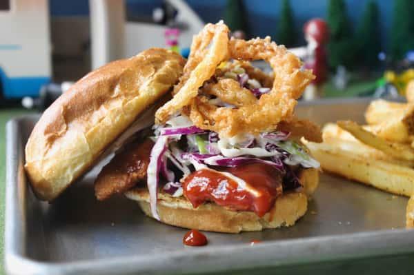 Mess Hall Crispy Chicken Sandwich