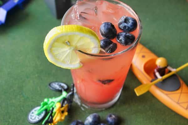 Watermelon Blueberry Cooler