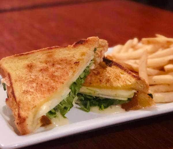 Monk Grilled Cheese