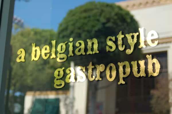 a belgian style gastropub