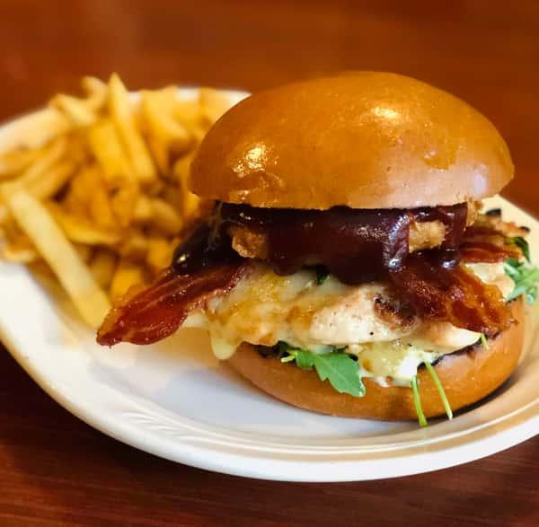 Western Grilled Chicken Sandwich