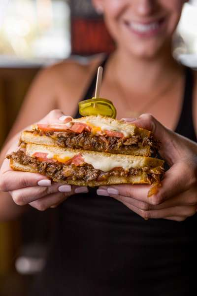 short rib grilled cheese