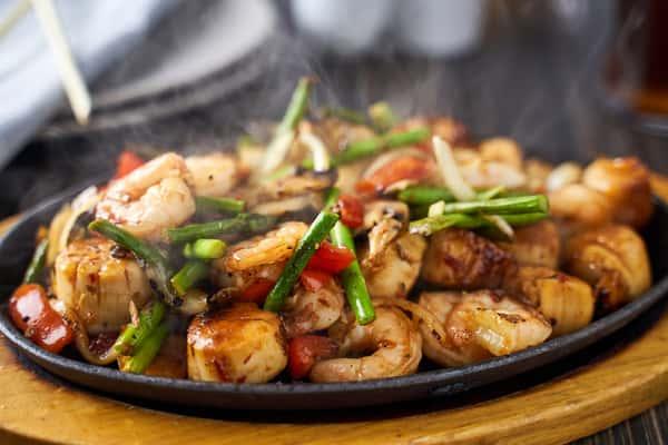 Shanghai Shrimp + Scallops