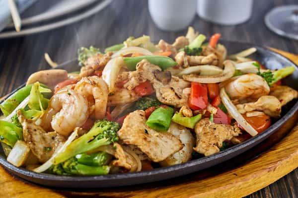 Seoul-Ful Shrimp + Chicken
