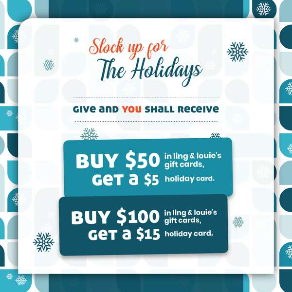 Holiday Gift Card Offer