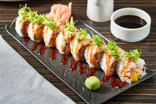 Enjoy a half-priced sushi roll every Wednesday in Scottsdale!