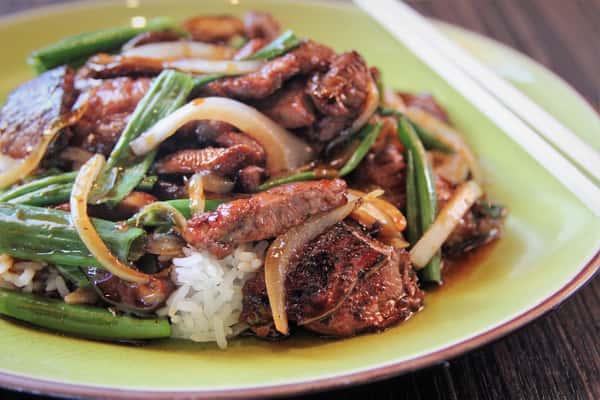 Mongolian Beef*