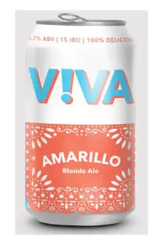 AMARILLO BLONDE ALE, VIVA BREWING