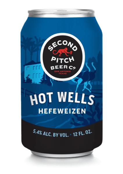 HOT WELLS HEFEWEIZEN, 2ND PITCH BEER CO