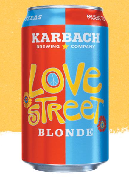 LOVE STREET, KARBACH BREWING