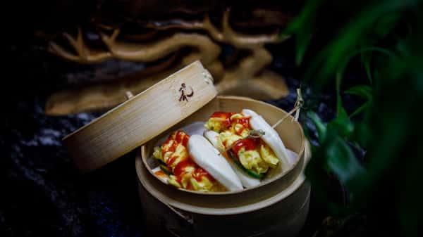 Scrambled Egg Bao