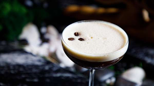 Vietnamese Coffee Martini