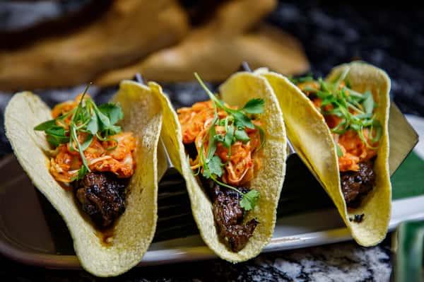 Breakfast Steak Tacos